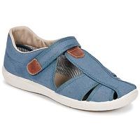 鞋子 男孩 凉鞋 Citrouille et Compagnie GUNCAL 蓝色