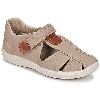 鞋子 男孩 凉鞋 Citrouille et Compagnie GUNCAL 米色