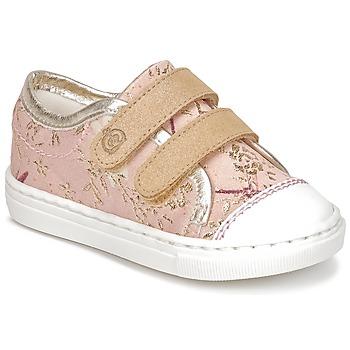 鞋子 女孩 球鞋基本款 Citrouille et Compagnie JORDANIA 玫瑰色 / 金色