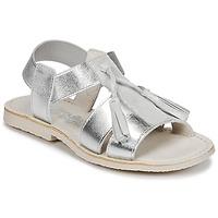 鞋子 女孩 凉鞋 Citrouille et Compagnie INAPLATA 银灰色