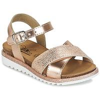 鞋子 女孩 凉鞋 Citrouille et Compagnie GAUFRETTE 古銅色
