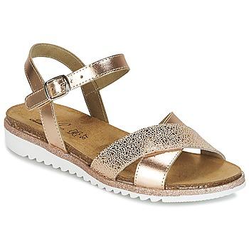 鞋子 女孩 涼鞋 Citrouille et Compagnie GAUFRETTE 古銅色