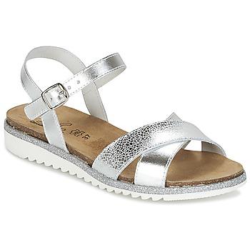 鞋子 女孩 凉鞋 Citrouille et Compagnie GAUFRETTE 银色