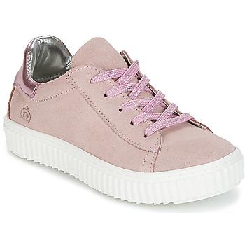 鞋子 女孩 球鞋基本款 Citrouille et Compagnie IPOGUIBA 玫瑰色