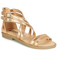 鞋子 女孩 凉鞋 Citrouille et Compagnie IMOURAT 金色