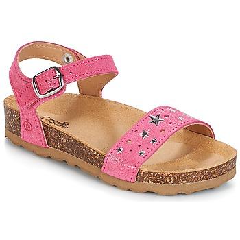 鞋子 女孩 涼鞋 Citrouille et Compagnie IHITO 玫瑰色