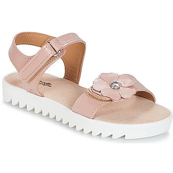 鞋子 女孩 凉鞋 Citrouille et Compagnie ILODO 玫瑰色