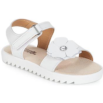 鞋子 女孩 凉鞋 Citrouille et Compagnie ILODO 白色