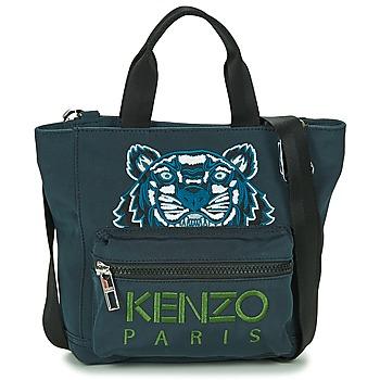 包 女士 购物袋 Kenzo KANVAS TIGER MINI TOTE 灰色