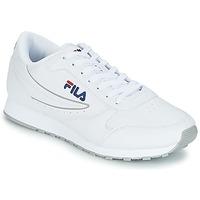 鞋子 男士 球鞋基本款 Fila ORBIT LOW 白色