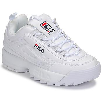 鞋子 女士 球鞋基本款 Fila DISRUPTOR LOW WMN 白色