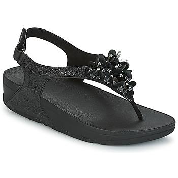 鞋子 女士 涼鞋 FitFlop BOOGALOO BACK STRAP SANDAL 黑色