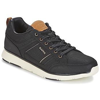 鞋子 男士 球鞋基本款 Kappa 卡帕 SIMEHUS 黑色