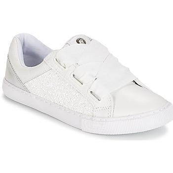 鞋子 女孩 球鞋基本款 Unisa XICA 白色