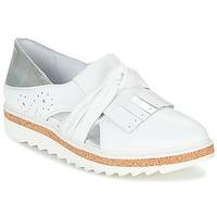 鞋子 女士 皮便鞋 Regard RASTAFA 白色 / 银灰色