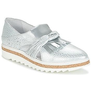 鞋子 女士 皮便鞋 Regard RASTAFA 银色