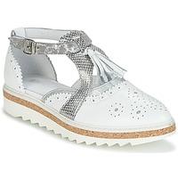 鞋子 女士 德比 Regard RASTANU 白色 / 银色