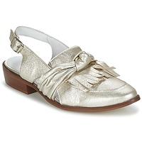 鞋子 女士 皮便鞋 Regard RELABI 金色