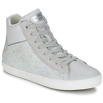 鞋子 女孩 高帮鞋 Geox 健乐士 J KILWI G. H 灰色 / 银灰色