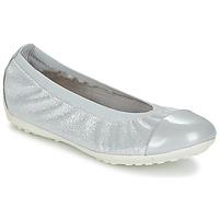 鞋子 女孩 平底鞋 Geox 健樂士 J PIUMA BAL A 灰色 / 銀灰色