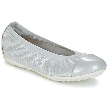 鞋子 女孩 平底鞋 Geox 健乐士 J PIUMA BAL A 灰色 / 银灰色
