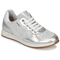 鞋子 女孩 球鞋基本款 Geox 健乐士 J JENSEA G. D 灰色 / 银灰色