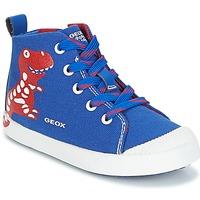 鞋子 男孩 高帮鞋 Geox 健乐士 B KILWI B. F 蓝色 / 红色