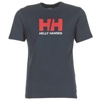 衣服 男士 短袖体恤 Helly Hansen 海丽汉森 HH LOGO 海蓝色