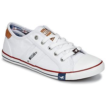鞋子 女士 球鞋基本款 Mustang RUGARL 白色