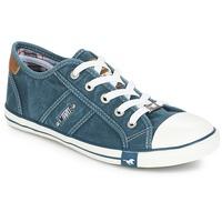 鞋子 女士 球鞋基本款 Mustang RUGARL 蓝色