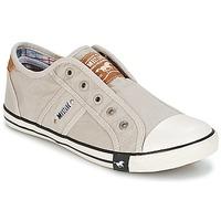 鞋子 女士 球鞋基本款 Mustang NAJERILLA 灰色 / 米色