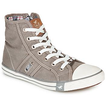 鞋子 女士 高帮鞋 Mustang GALLEGO 灰色 / 银灰色