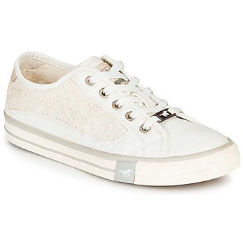 鞋子 女士 球鞋基本款 Mustang ROULIA 白色