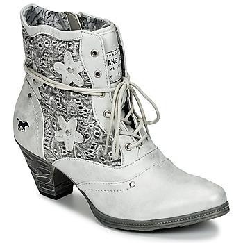 鞋子 女士 短靴 Mustang JIPIRI 银灰色