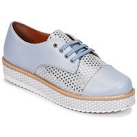 鞋子 女士 德比 Cristofoli FILIPY 蓝色