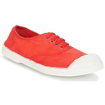 鞋子 女士 球鞋基本款 Bensimon TENNIS LACET 红色