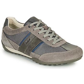 鞋子 男士 球鞋基本款 Geox 健乐士 U WELLS C 灰色