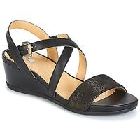 鞋子 女士 凉鞋 Geox 健乐士 MARYKARMEN A 黑色