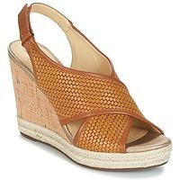 鞋子 女士 凉鞋 Geox 健乐士 JANIRA C 棕色