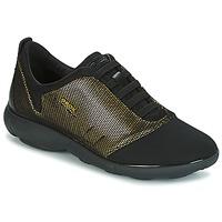 鞋子 女士 球鞋基本款 Geox 健乐士 D NEBULA C 金色 / 黑色