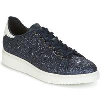 鞋子 女士 球鞋基本款 Geox 健乐士 D THYMAR C 蓝色 / 白色