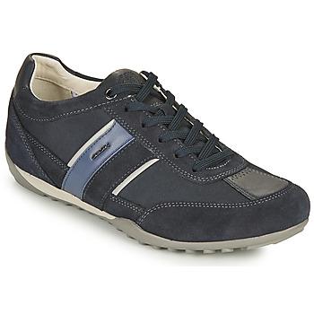 鞋子 男士 球鞋基本款 Geox 健乐士 U WELLS C 蓝色