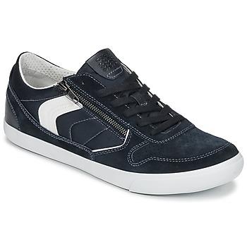 鞋子 男士 球鞋基本款 Geox 健乐士 U BOX C 蓝色