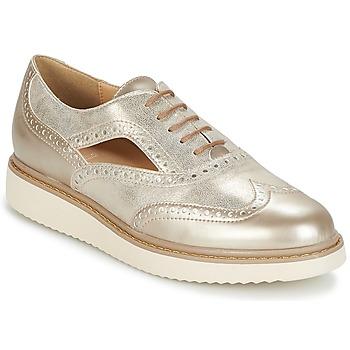 鞋子 女士 德比 Geox 健乐士 THYMAR A 米色 / 灰褐色