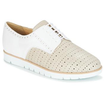 鞋子 女士 德比 Geox 健乐士 KOOKEAN 灰褐色 / 白色
