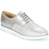 鞋子 女士 德比 Geox 健乐士 KOOKEAN 银灰色