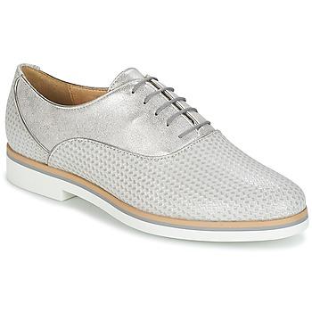 鞋子 女士 德比 Geox 健乐士 JANALEE A 灰色 / 白色