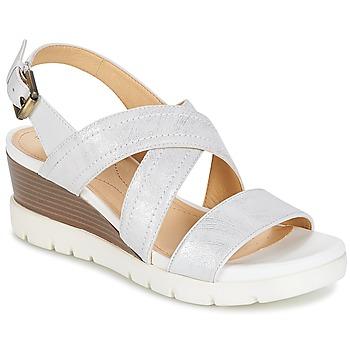 鞋子 女士 凉鞋 Geox 健乐士 MARYKARMEN P.B 白色