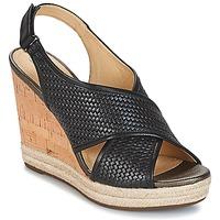 鞋子 女士 凉鞋 Geox 健乐士 JANIRA C 黑色