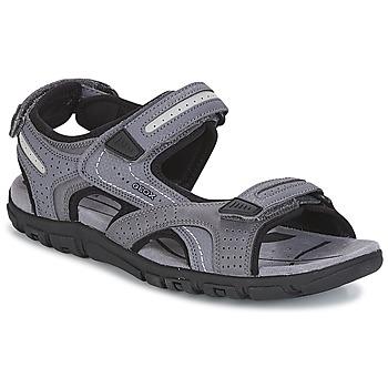 鞋子 男士 凉鞋 Geox 健乐士 S.STRADA D 灰色